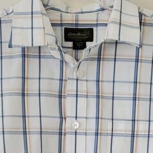 Eddie Bauer Mauritius short sleeve cotton …